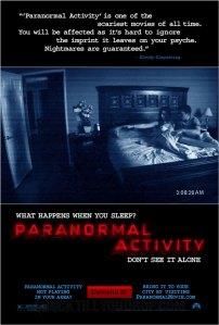 Paranormal activity ... بصمة فنية جديدة في عالم أفلام الرعب المعاصرة